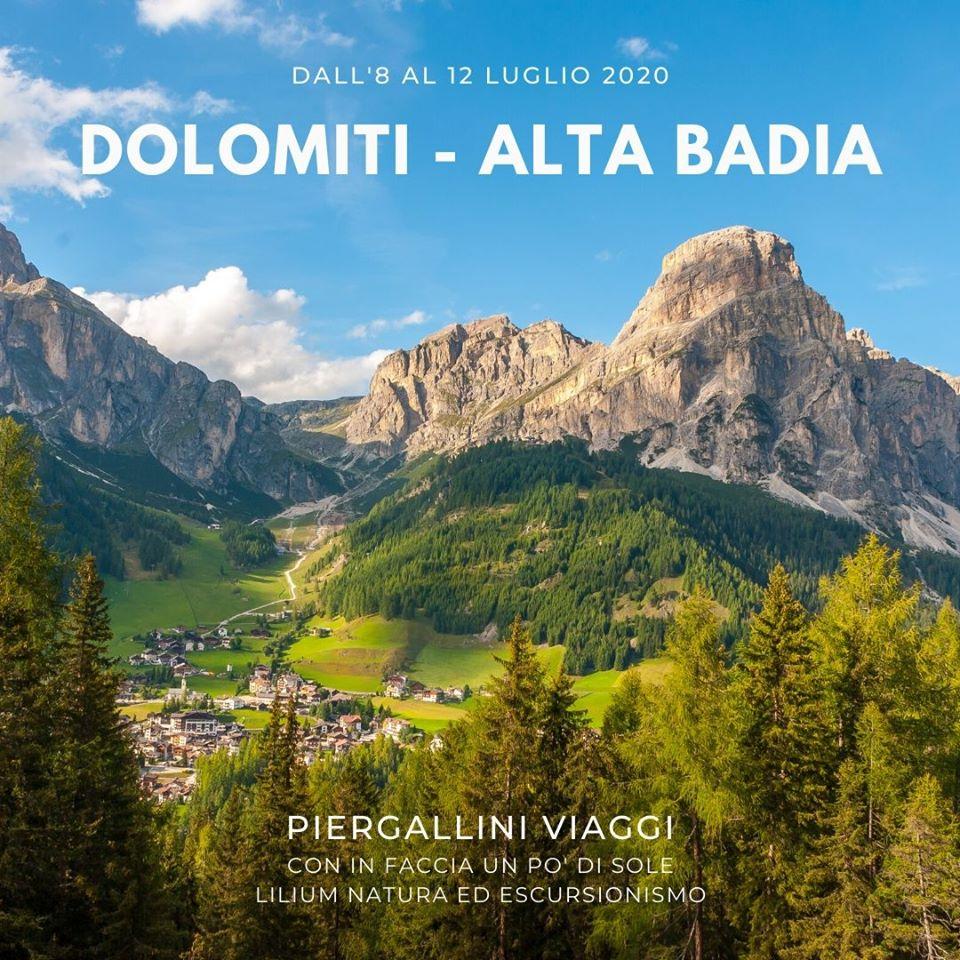 TREKKING DOLOMITI - ALTA BADIA | DALL' 8 AL 12 LUGLIO 2020